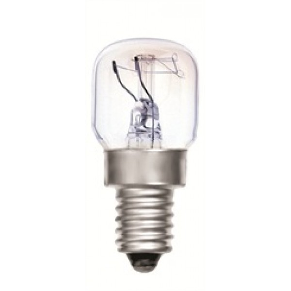 25 Watt SES (E14) 300 Degree Oven Lamp Bulb