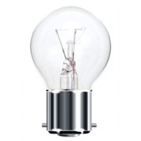 BC (B22) Clear Golf Ball Light Bulbs