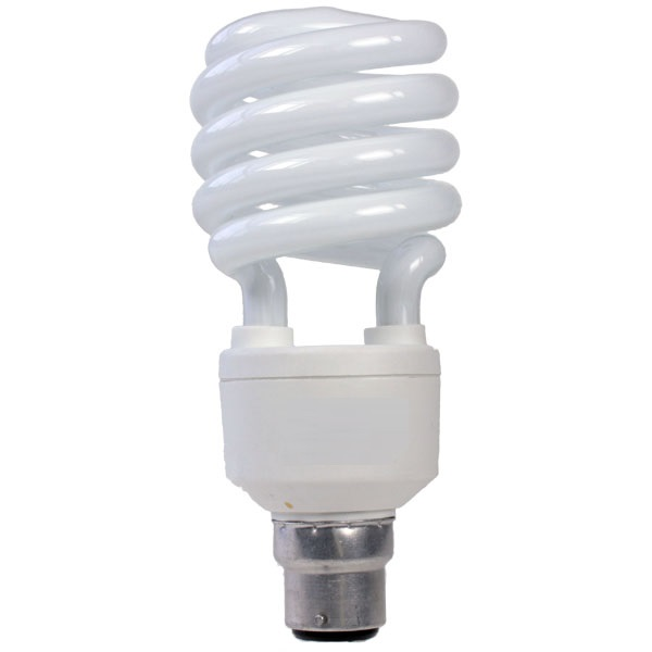 24 watt BC (B22) Energy Saving Cool Daylight Light Bulbs