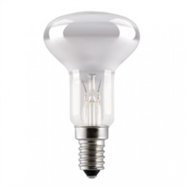 SES (E14) R50 Opal White Reflector Light Bulbs