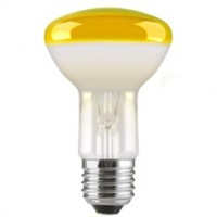 ES (E27) R64 Yellow Reflector Light Bulbs