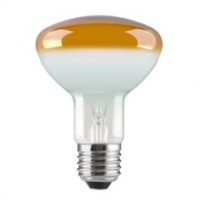 ES (E27) R80 Amber Reflector Light Bulbs