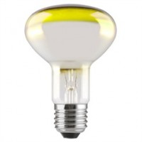 ES (E27) R80 Yellow Reflector Light Bulbs