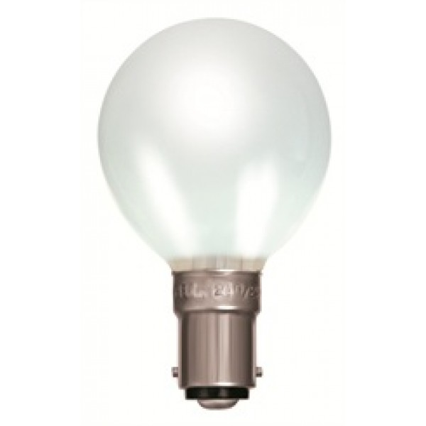 SBC (B15) White Opal Golf Ball Light Bulbs