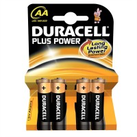 DURACELL PLUS AA 4PK