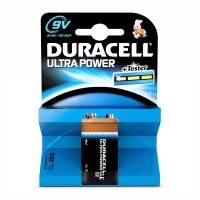 DURACELL ULTRA 9V BATTERIES 1PK