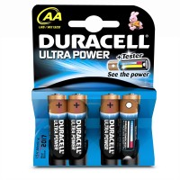 DURACELL ULTRA AA BATTERIES 4PK