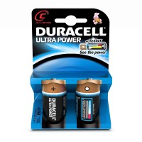 DURACELL ULTRA C BATTERIES 2PK