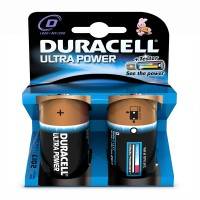DURACELL ULTRA D BATTERIES 2PK