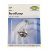 RING AUTOMOTIVE H7 RU477 CAR HALOGEN HEADLAMP BULB